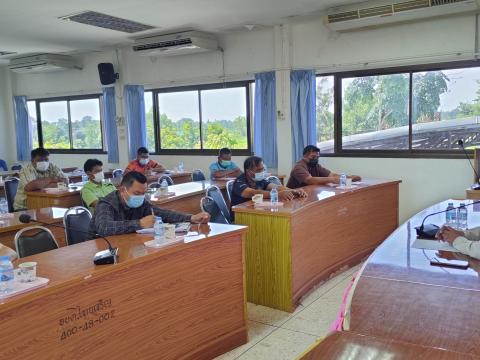 การประชุมคณะกรรมการบริหารเงินทุนตามโครงการเศรษฐกิจชุมชนตำบลไทยเจ